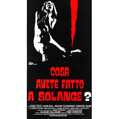 What Have You Done To Solange? (1972)