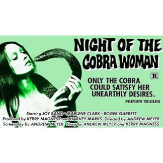 Night Of The Cobra Woman (1972)