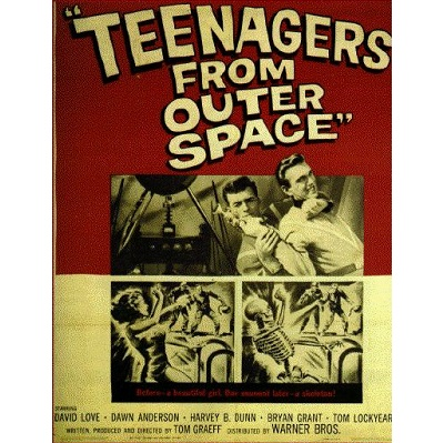Teenagers From Outer Space (1958)