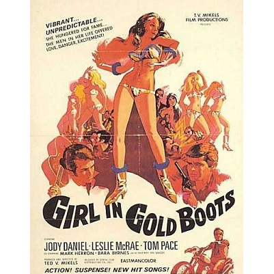 Girl In Gold Boots (1969)