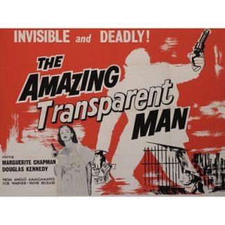 The Amazing Transparent Man (1959)