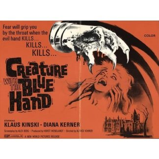 Creature With The Blue Hand (1971)