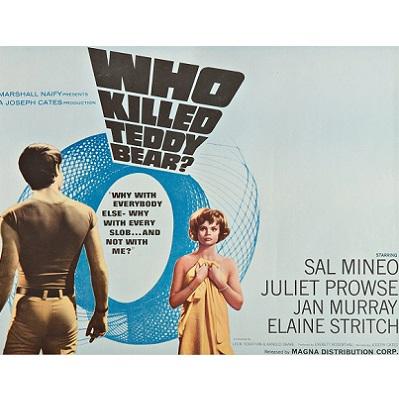 Who Killed Teddy Bear? (1965)
