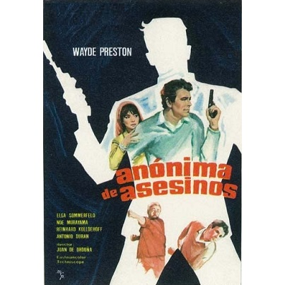 Man On A Spying Trapeze (1967)