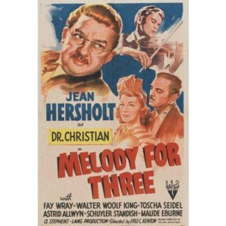 Melody For Three (1941)