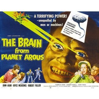 The Brain From Planet Arous (1958)